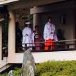 この日は松尾様で婚礼の儀が行われてましたわ(^^)