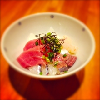 小さな海鮮のどんぶり「ミニ海鮮丼」