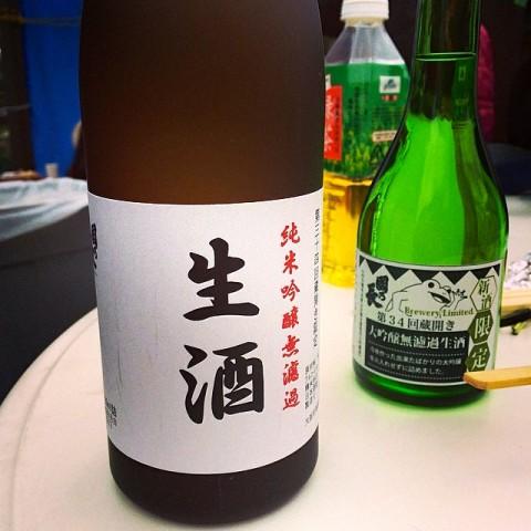 一般販売されていない蔵開きの日にしか販売されない、純米吟醸無濾過!個性のある純米吟醸で呑んで楽しい酒です!