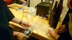 乾杯の八海山スパークリング日本酒 シュワシュワうまいです!!!