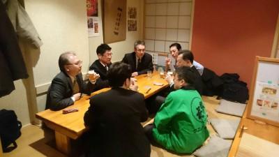 富田杜氏の醸したビールを飲みながら15年ぶりの友と語り合う同期会!!!
