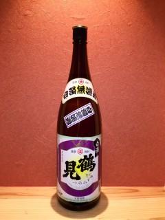 めっちゃ芋臭い焼酎 「鶴見 白濁」 380円