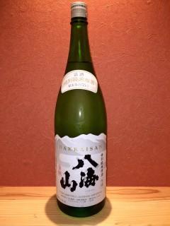 八海山 特別純米原酒 半合430円/一合860円