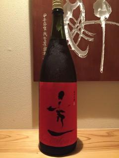 滋賀県 秀一 純米吟醸 半合¥600/一合¥980