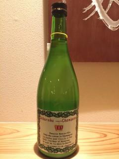 ハレルヤ シャンパンどぶろく 半合¥480  ボトル¥2700