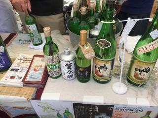 徳島県 本家松浦酒造 鳴門鯛 土蜘蛛は左端に写っていますが…